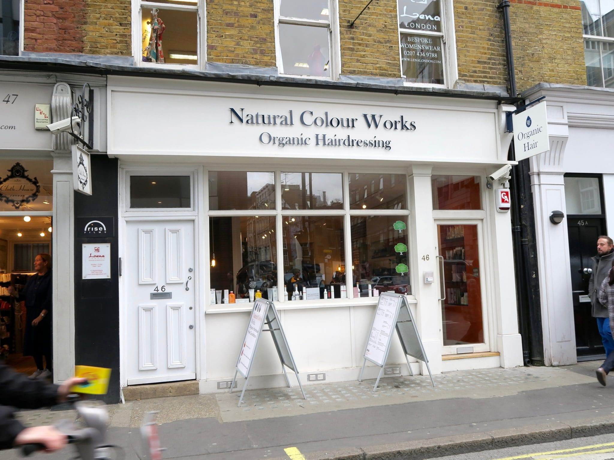 Natural Colour Works Organic Hairdressers