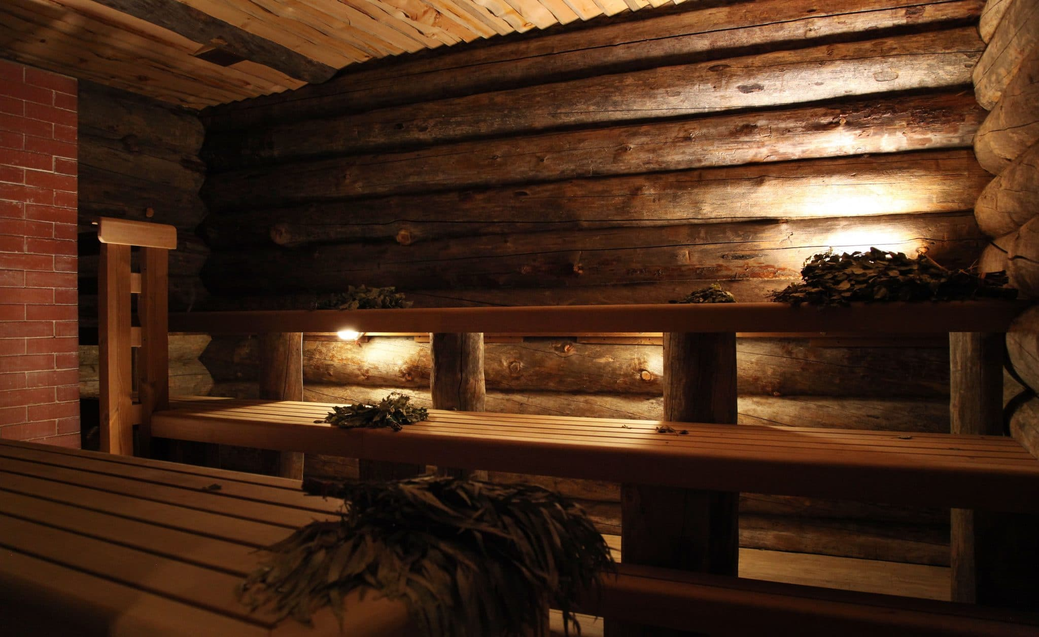 Russian steam room at Banya No 1