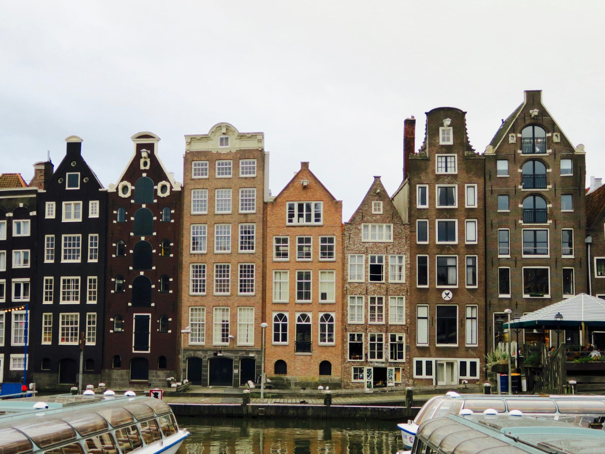 Dutch houses in Amsterdam