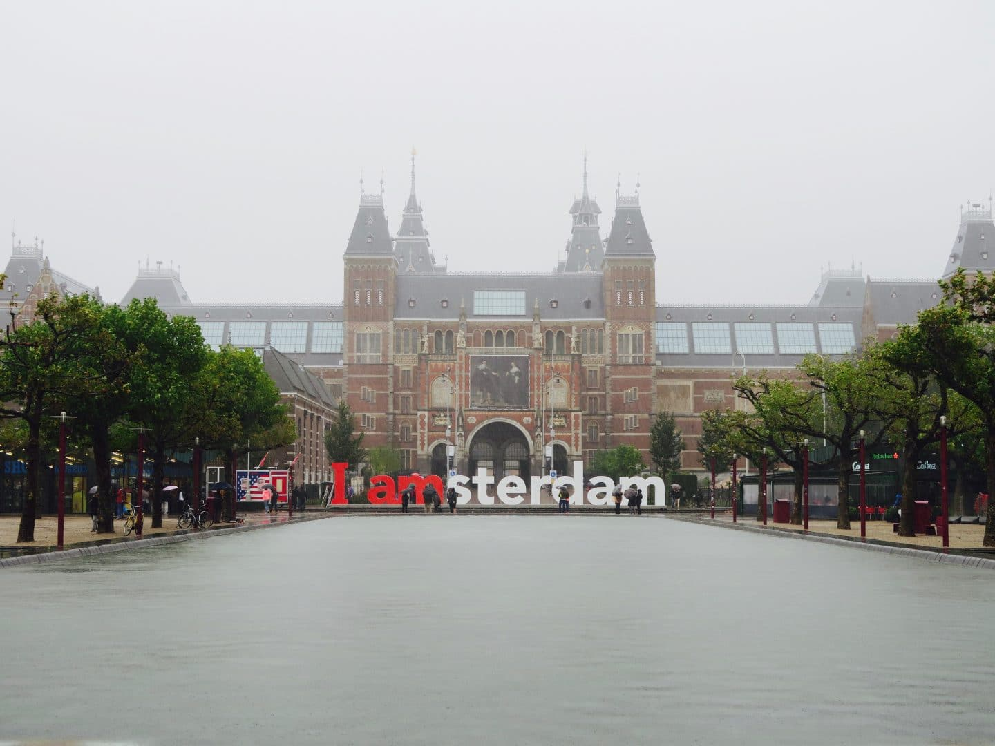 I Amsterdam Sign outside Rijksmuseum