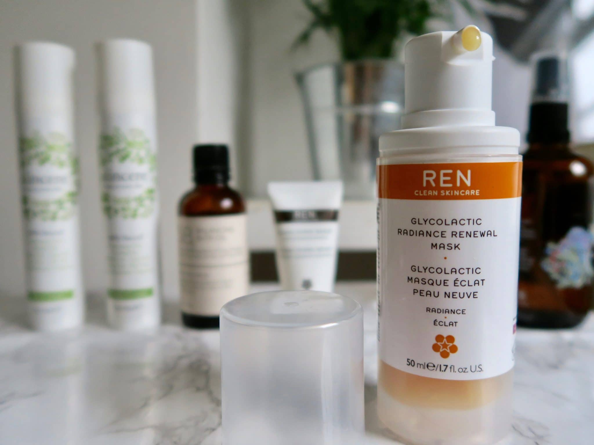 REN Skincare Glycolactic Face Mask Review