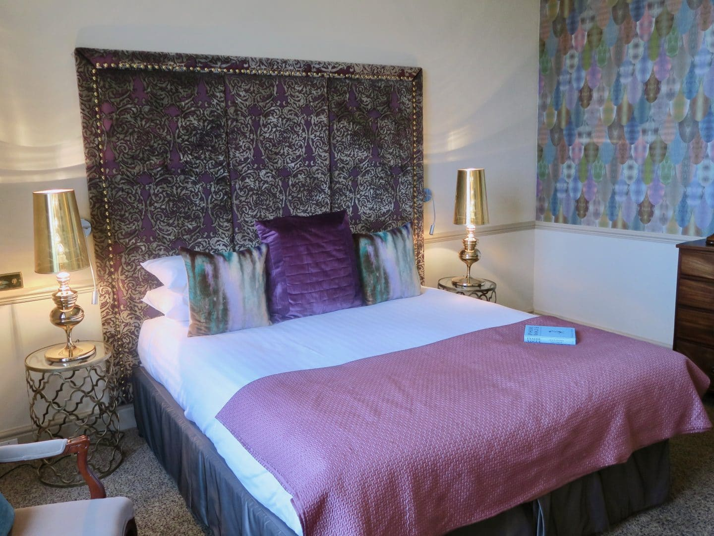 Bedroom at Combe Grove Hotel