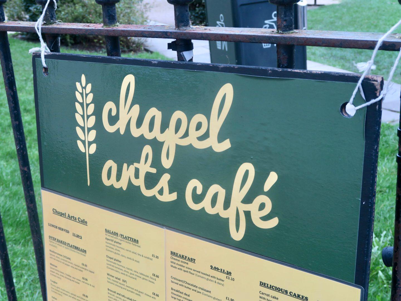 Chapel Arts Café Bath review
