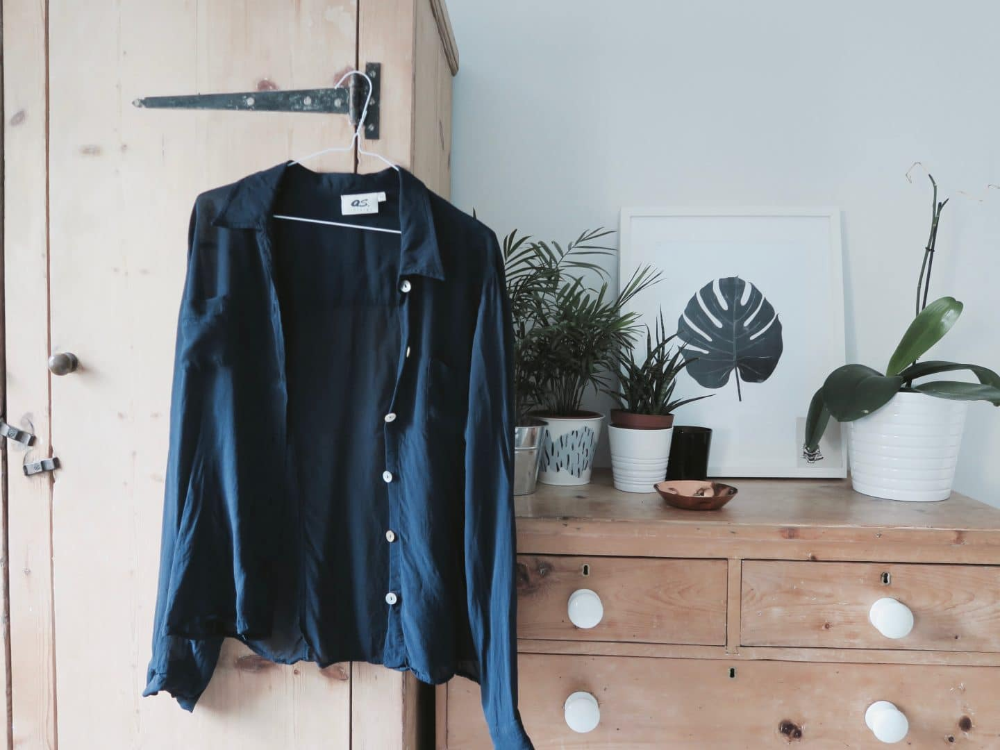 Kilo shop blue shirt | Curiously Conscious
