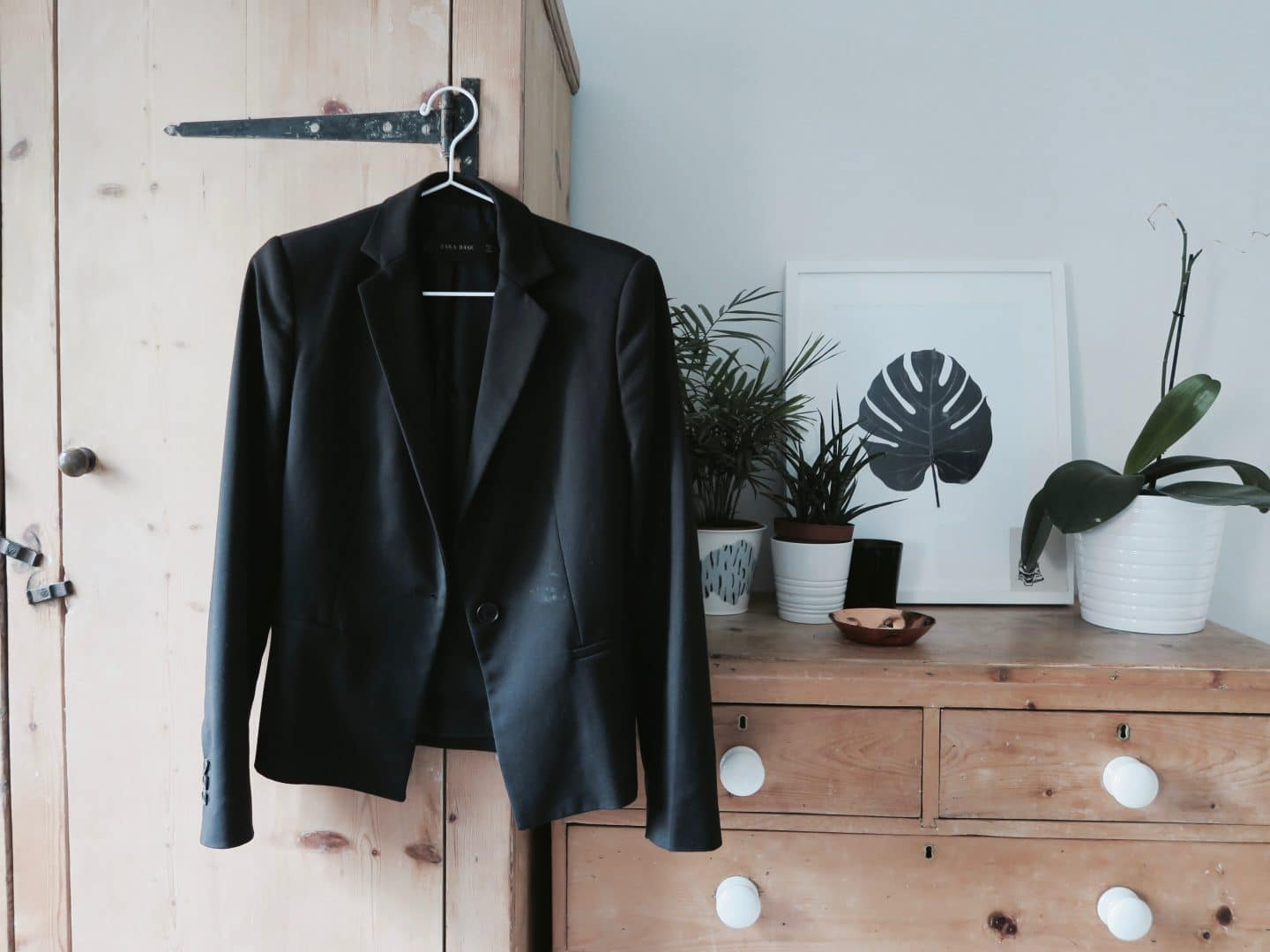 Black blazer investment piece | Curiously Conscious