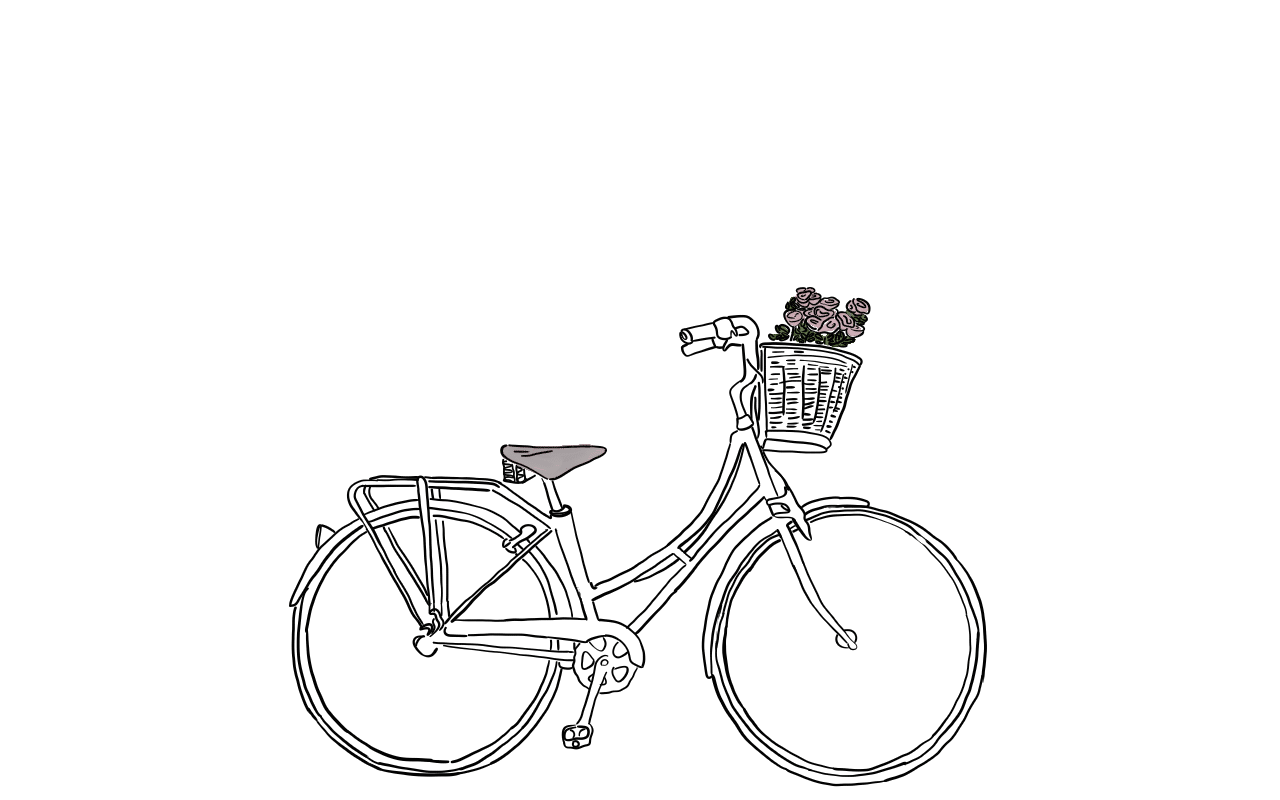 Bicycle - Line Drawing