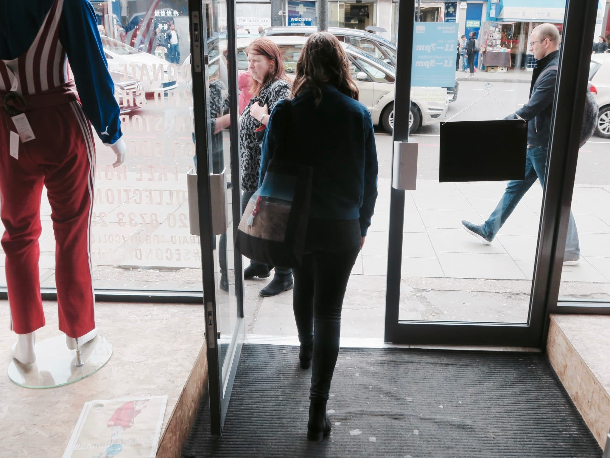 Thrift Shopping in Camden, London