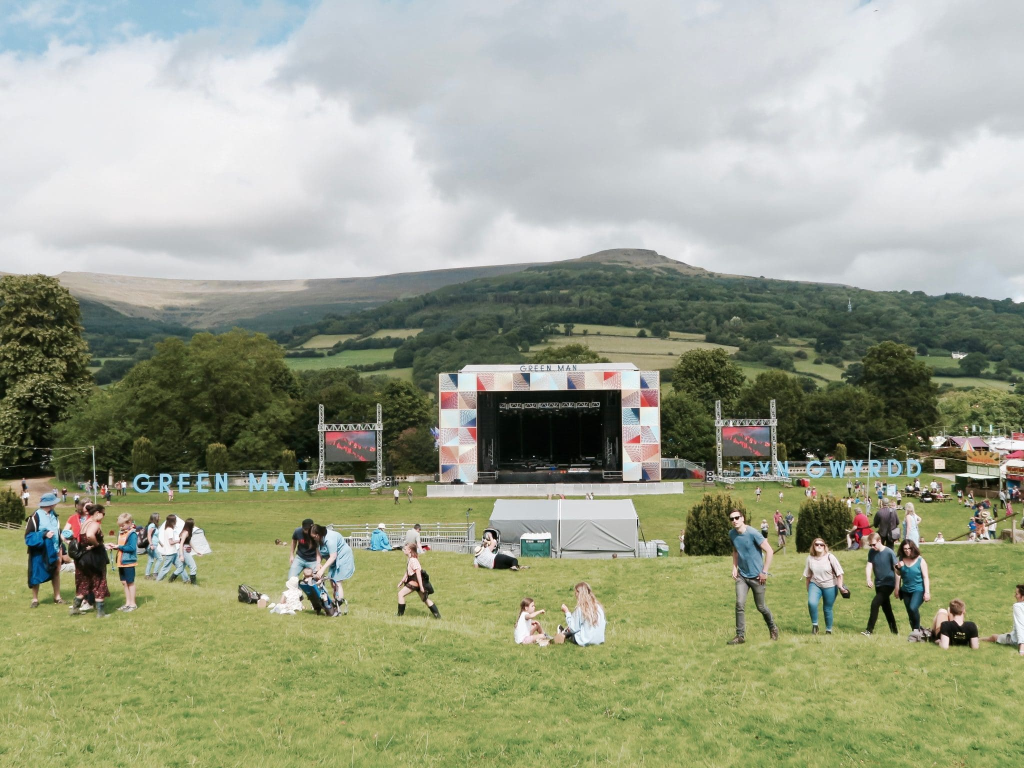Mountain Stage at Green Man 2017