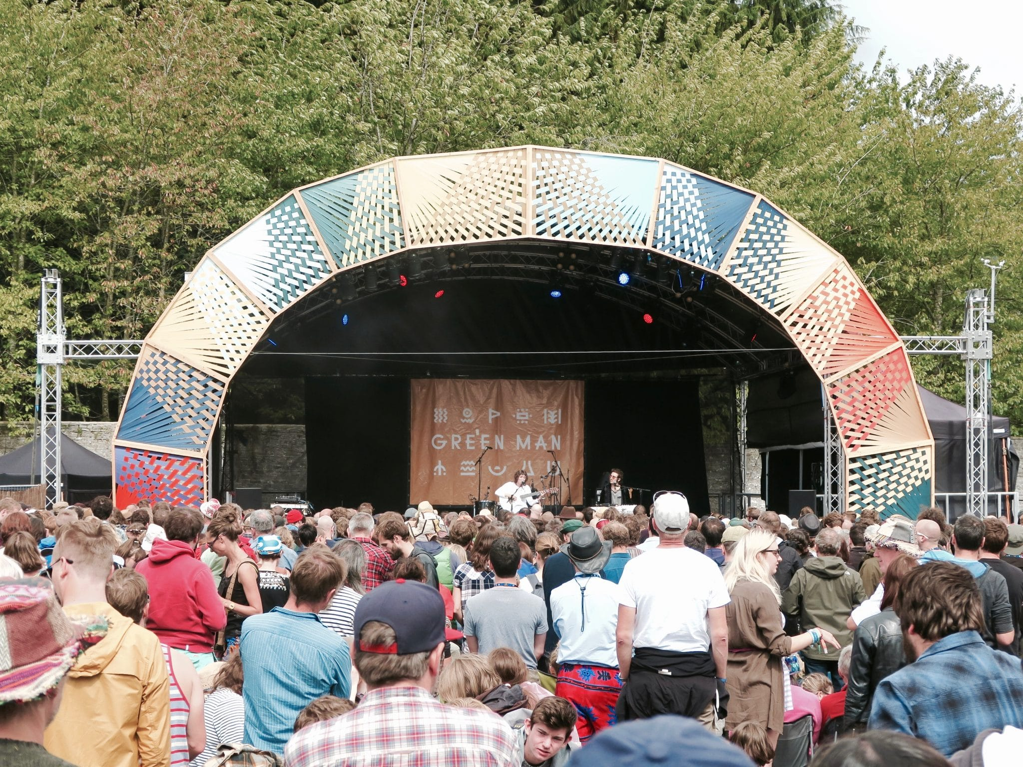 Aldous Harding on the Walled Garden Stage at Green Man 2017