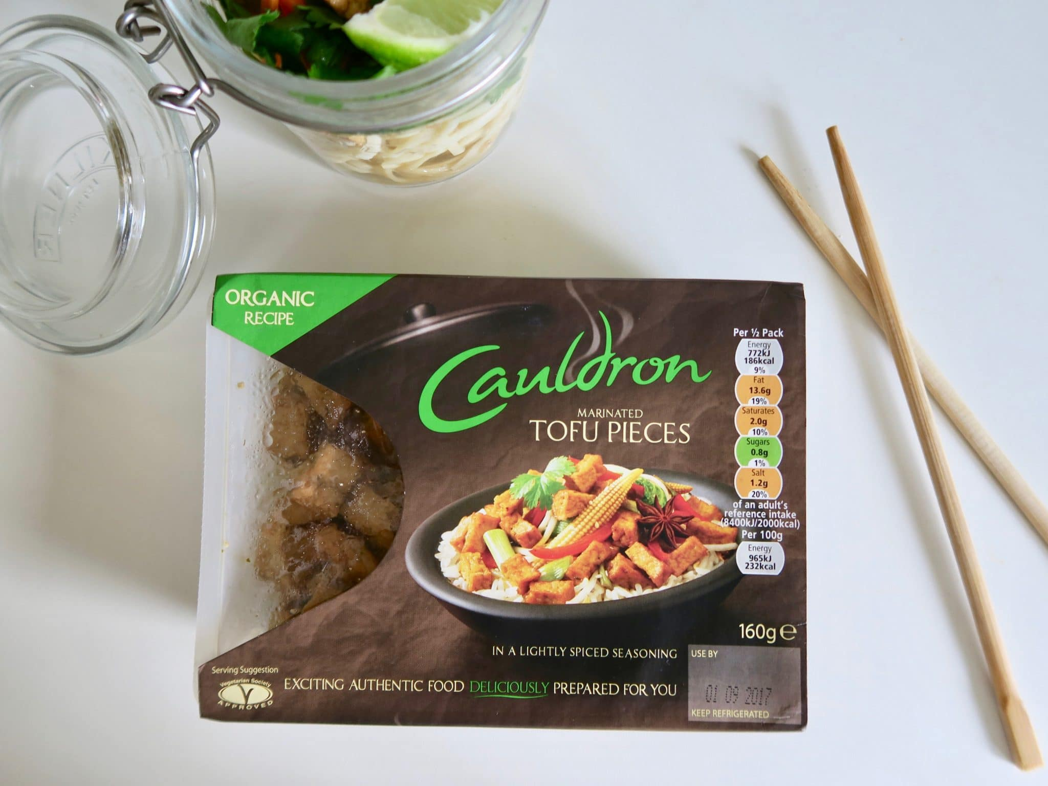 Cauldron Foods Organic Marinated Tofu Pieces