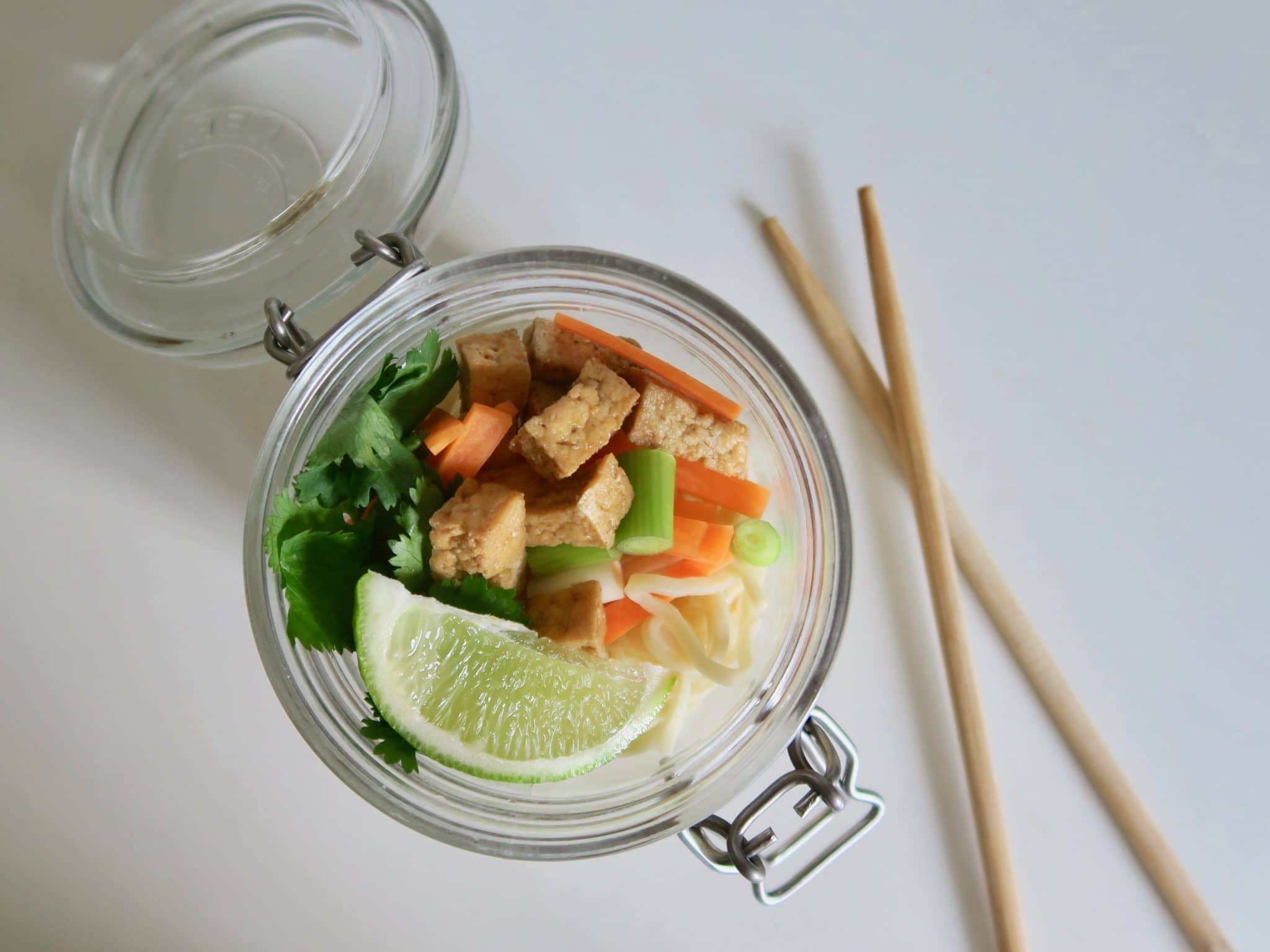 How to Make Teriyaki Tofu and Noodles
