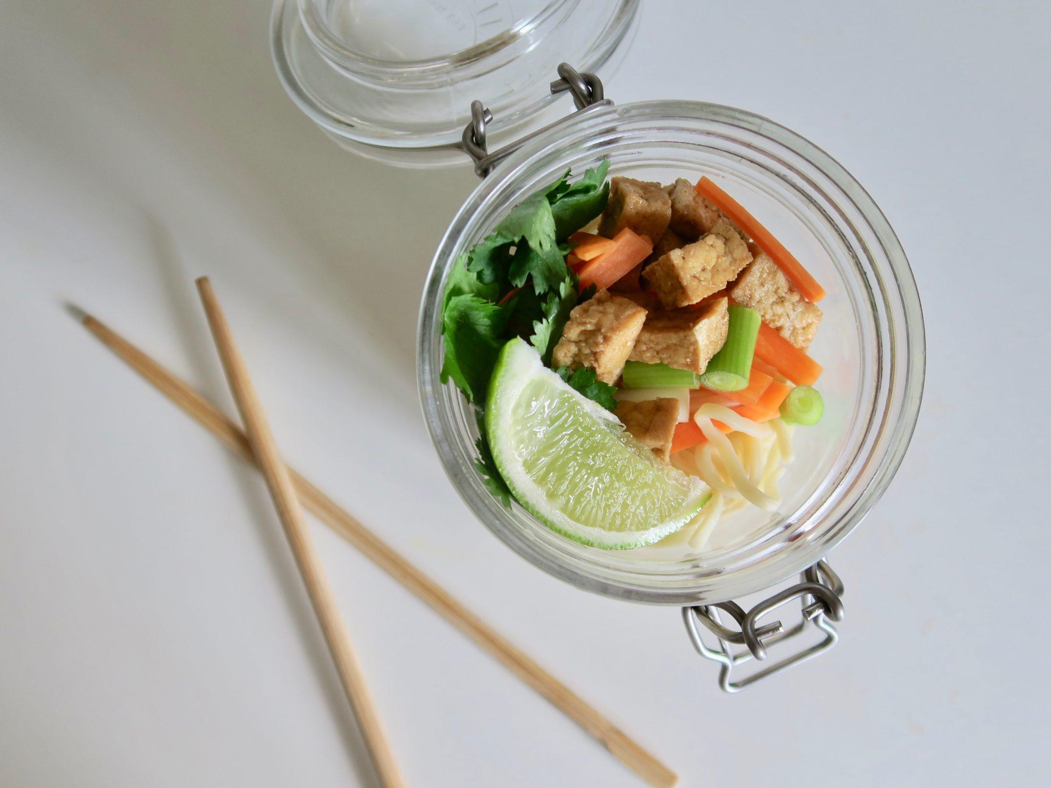 Teriyaki Tofu and Noodles Recipe