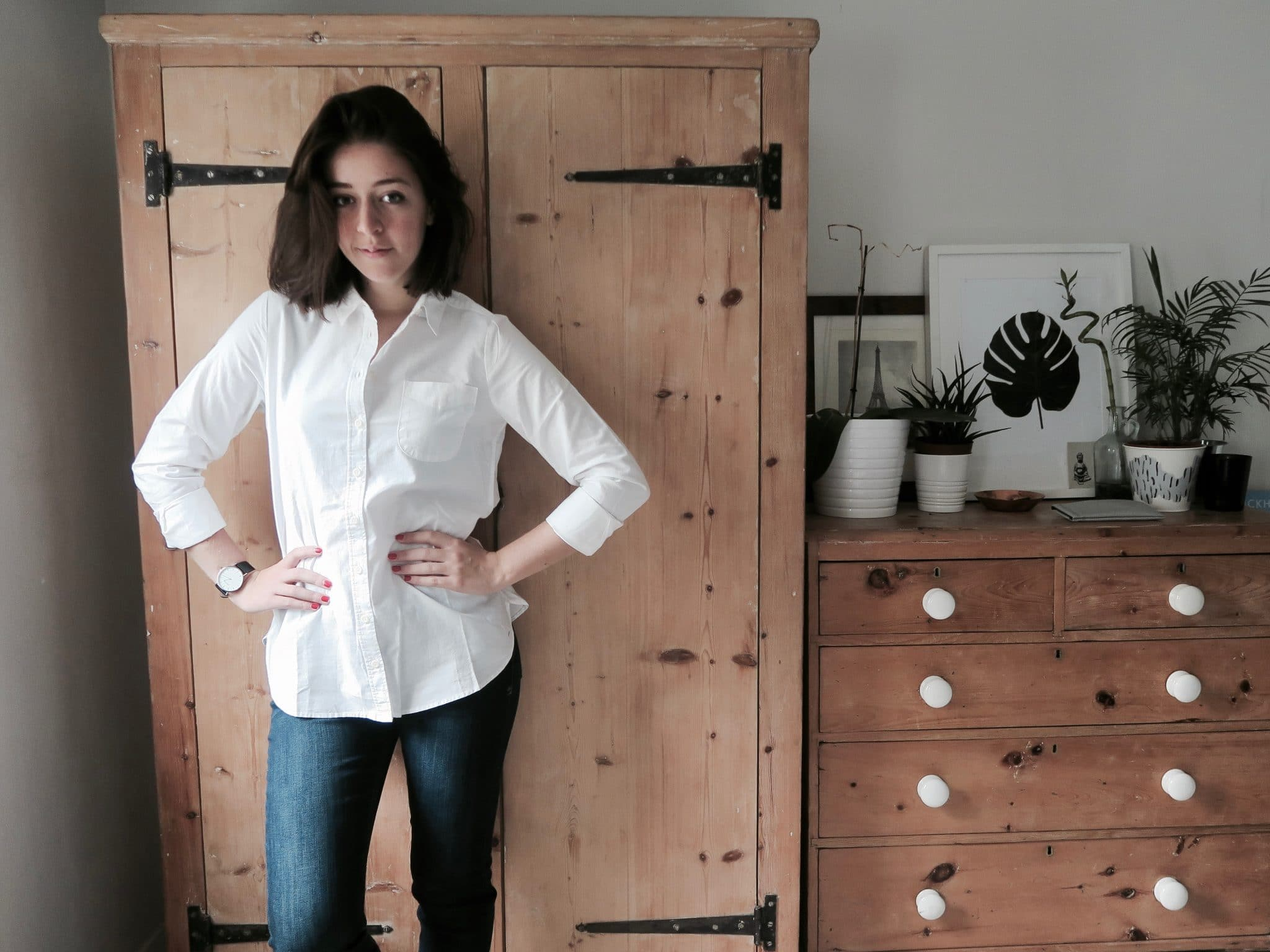 The Olivia Shirt and Everyday Jeans from Fat Face