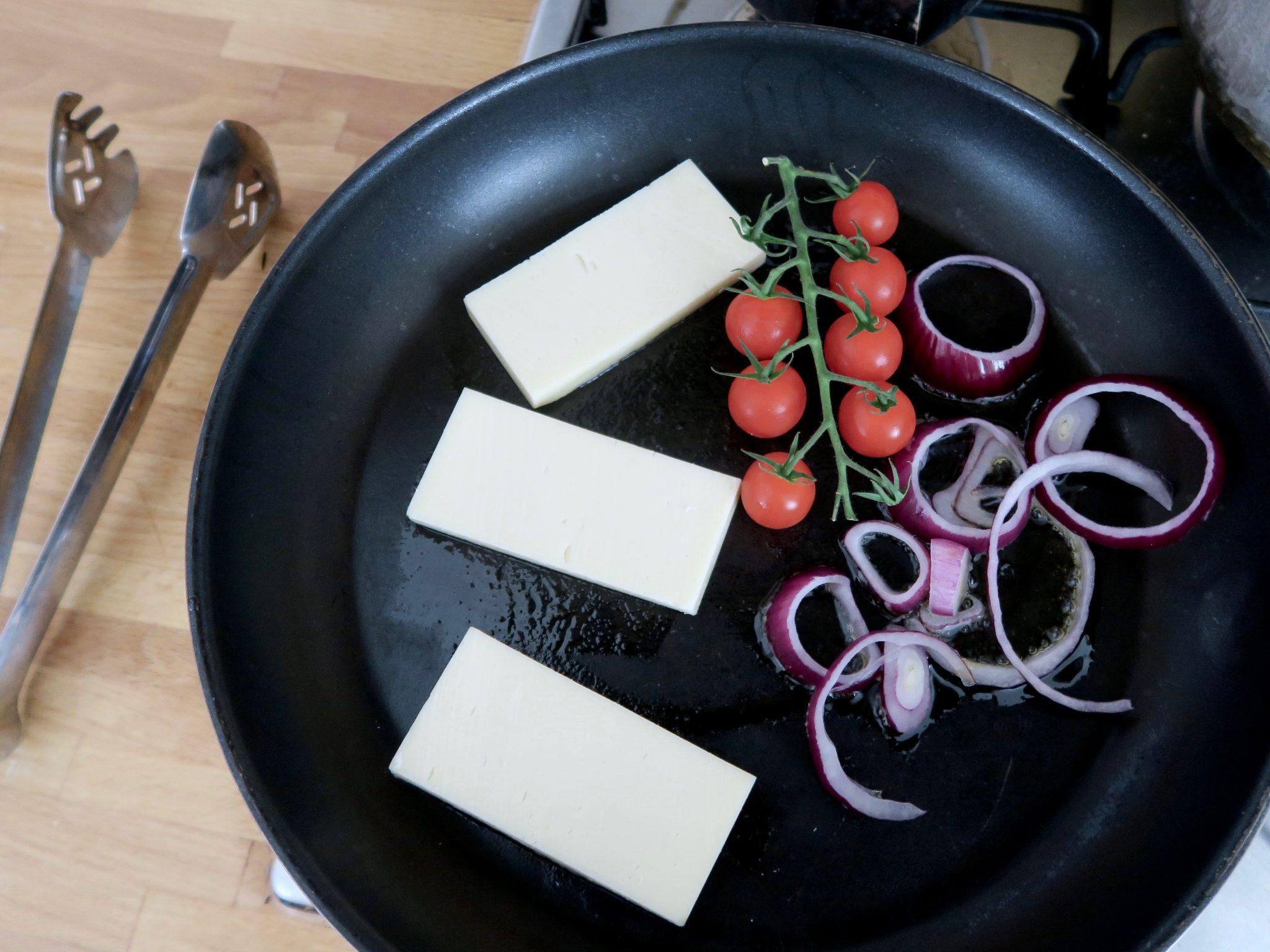 How to cook Violife vegan halloumi block | Curiously Conscious