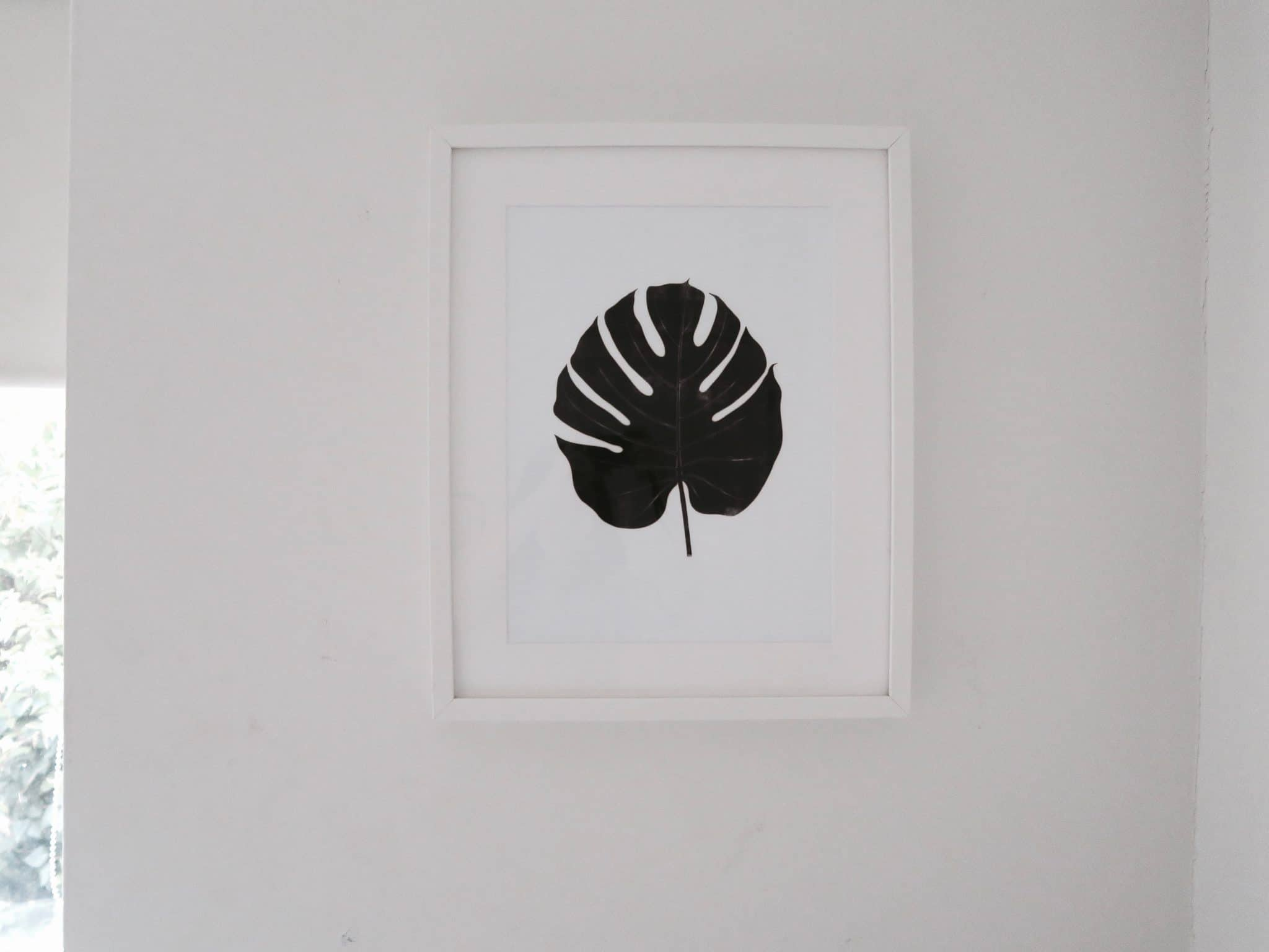 New Room Tour - Leaf Print