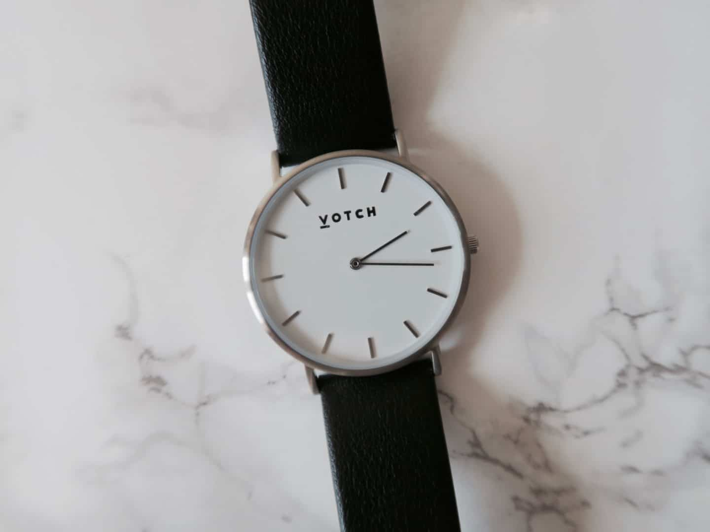 Votch Vegan Leather Watch | Curiously Conscious