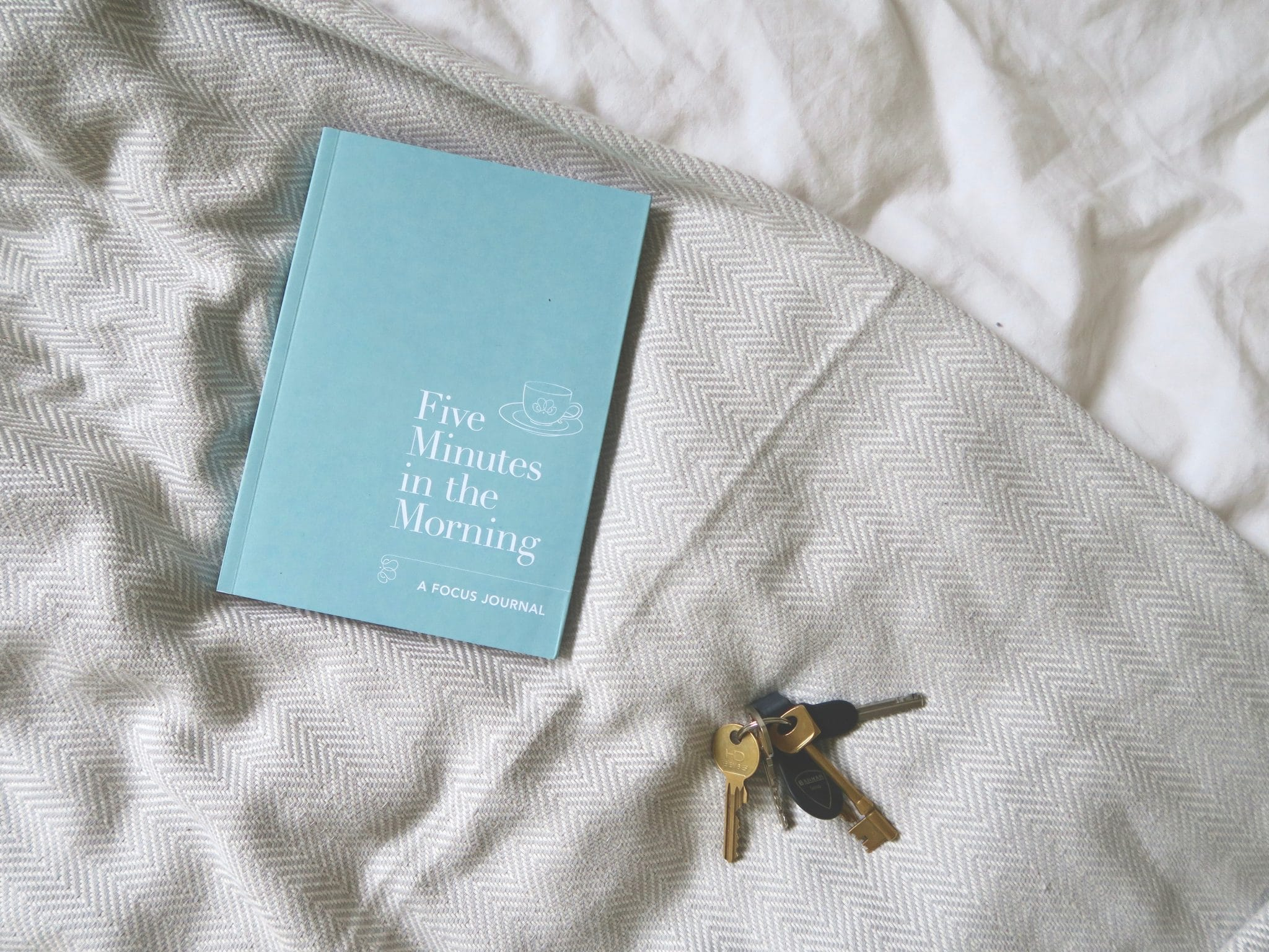 Five Minutes in the Morning Focus Journal | Curiously Conscious