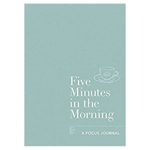 Five Minutes in the Morning Focus Journal by Aster