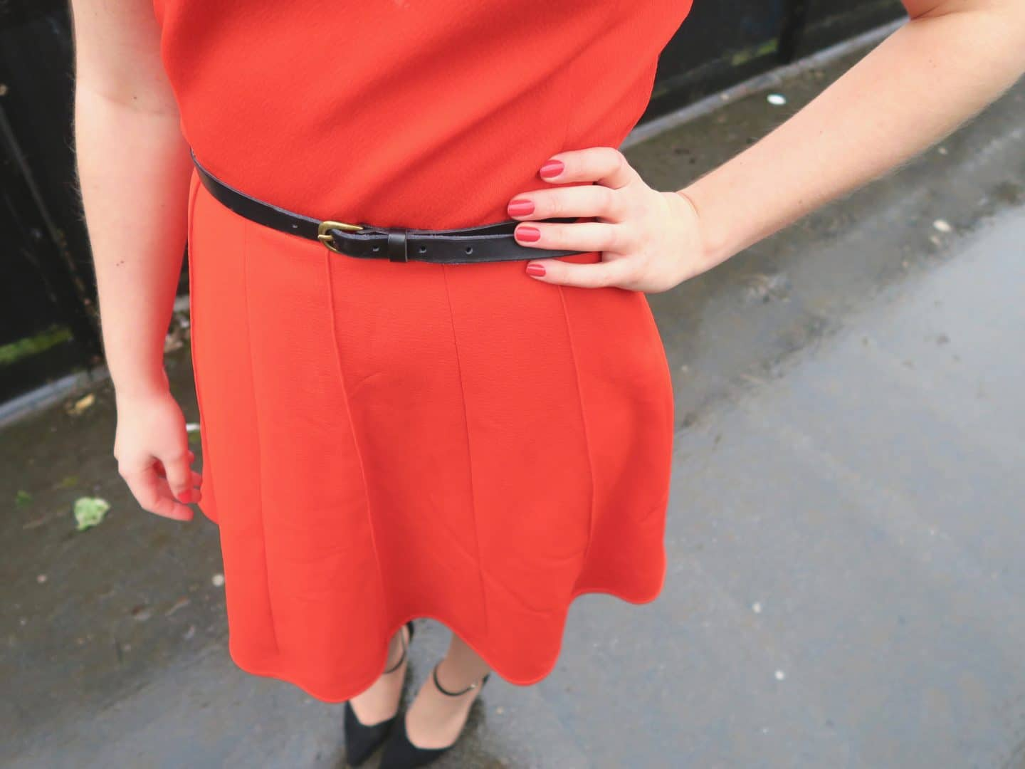 Accessorising My Vintage Red Dress | Curiously Conscious