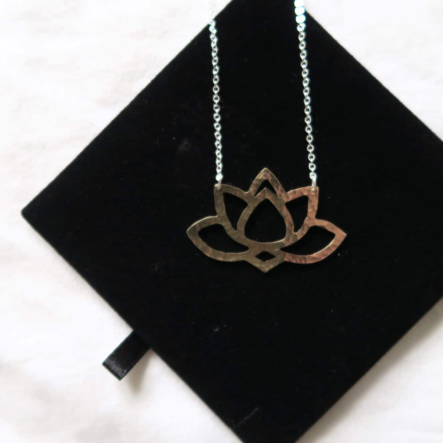Lotus Pendant by Just Trade x Wellcome Collection | Curiously Conscious