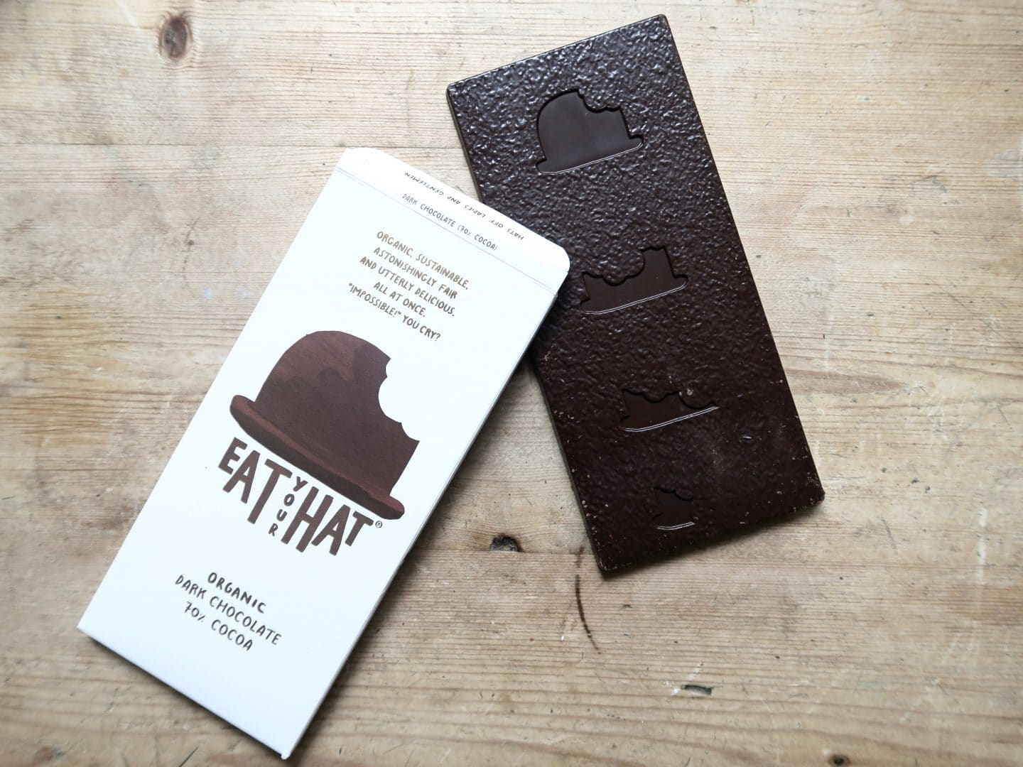 Eat Your Hat Organic Chocolate | Curiously Conscious