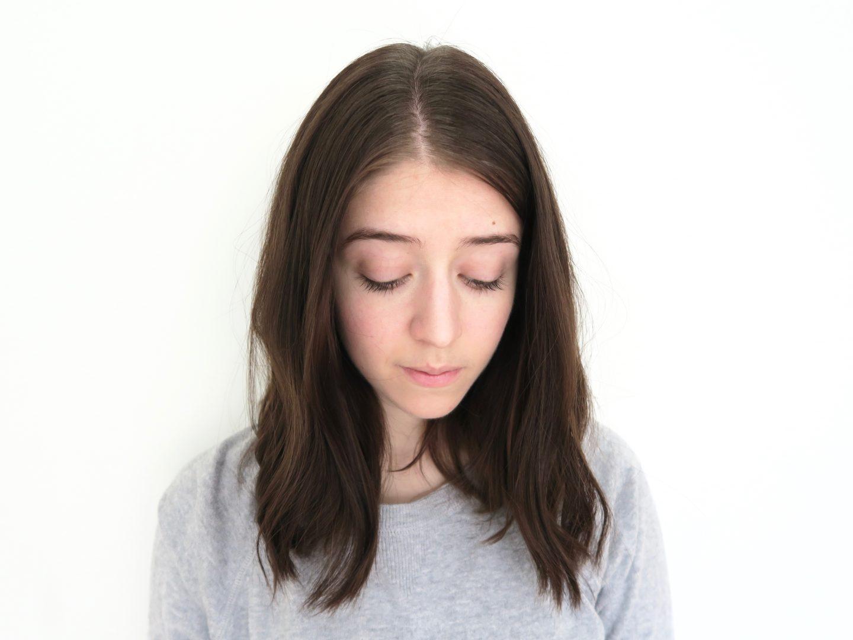 Naturigin Hair Dye Review - Before