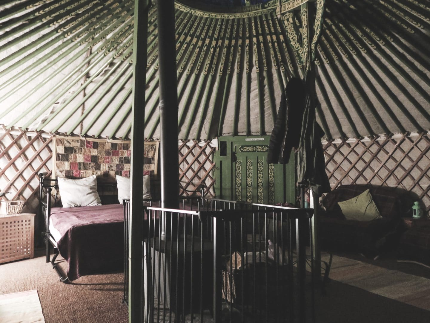 Interior at Hidden Valley Yurts | Curiously Conscious