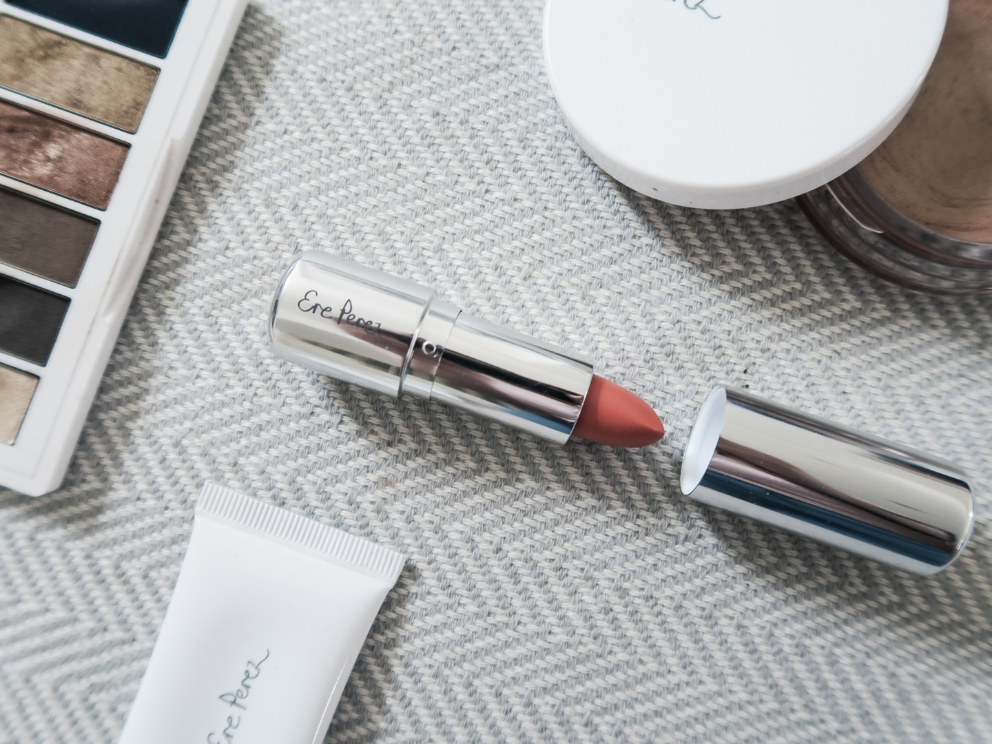 Ere Perez Olive Oil Lipstick Review | Curiously Conscious