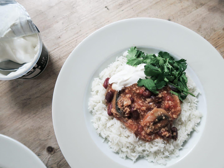 Vegan Chilli Con Carne | Curiously Conscious