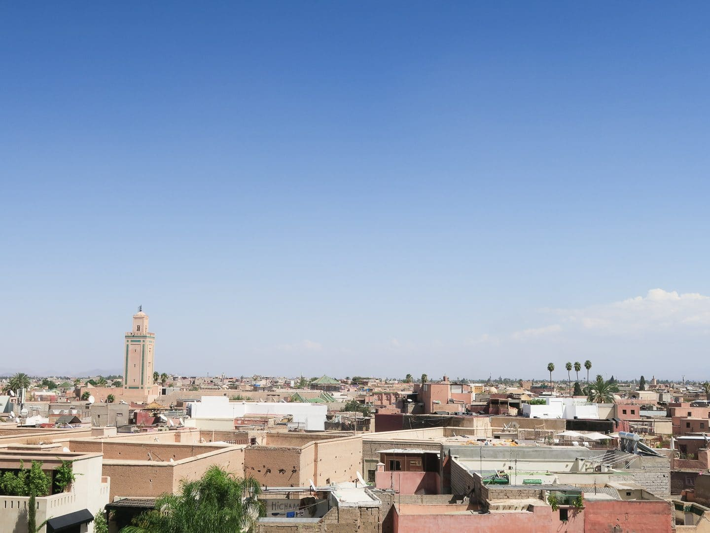 Panorama of Marrakech, Morocco | Curiously Conscious