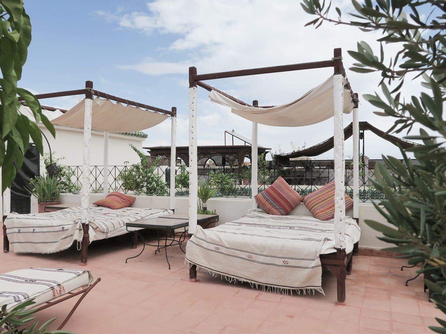 Rooftop Terrace at Riad Dar Bounouar | Curiously Conscious