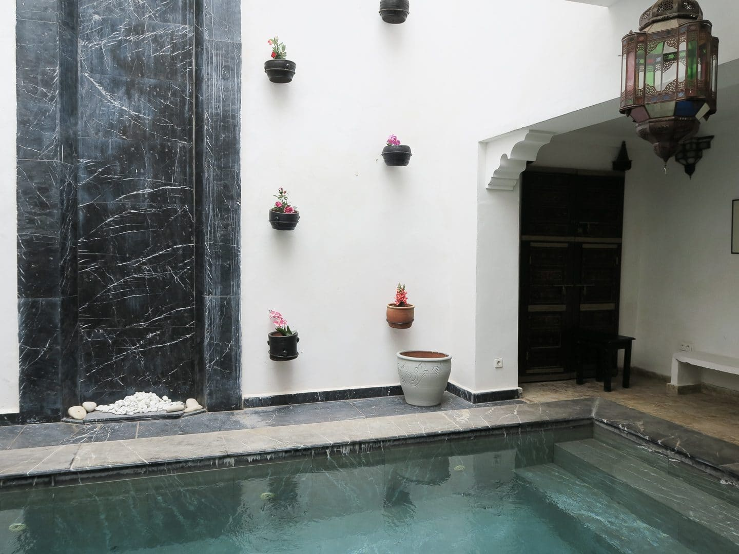 Swimming Pool at Riad Dar Bounouar | Curiously Conscious