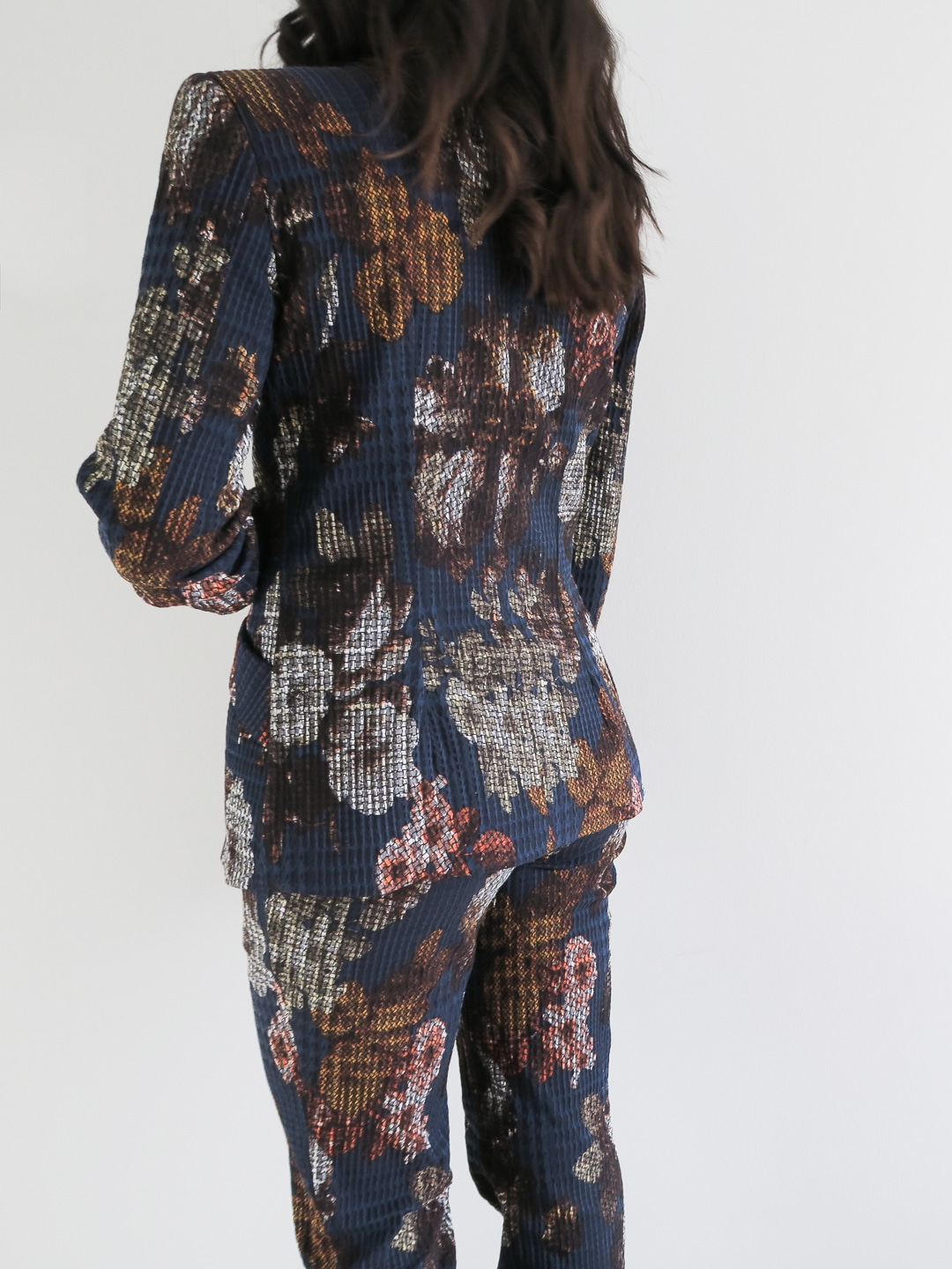 How To Style a Womens Floral Suit | Curiously Conscious