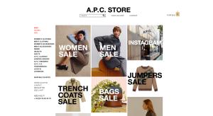 A.P.C. website
