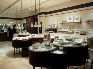 Interior of Ethos Restaurant