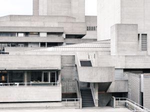 Concrete exterior of Southbank Centre