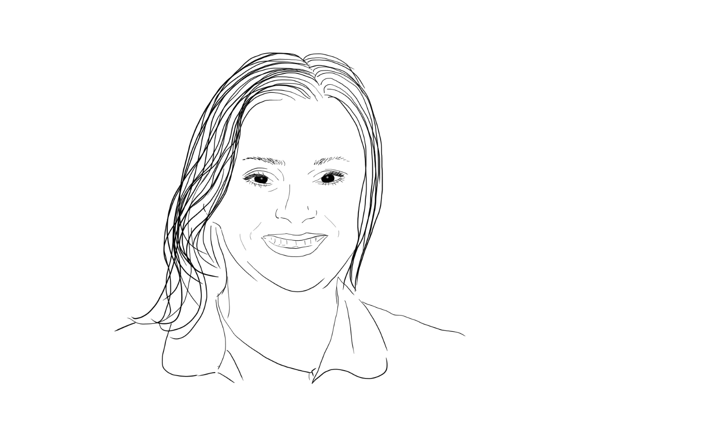Sketch of Vicky Smith, Founder of Earth Changers