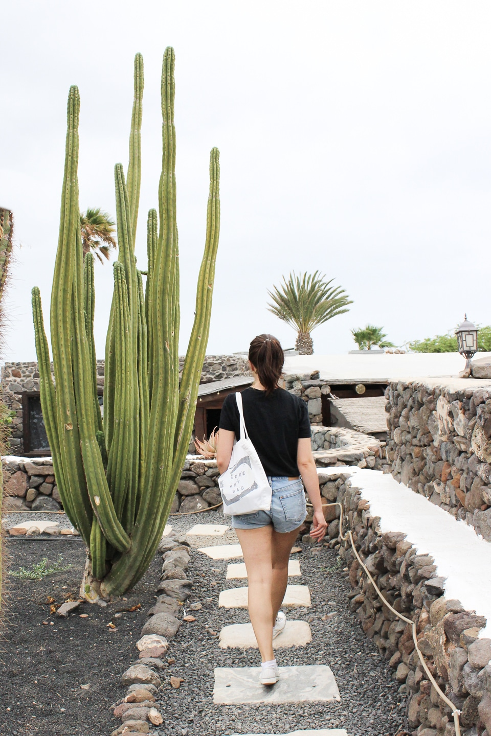 Walking through Finca de Arrieta Eco Village