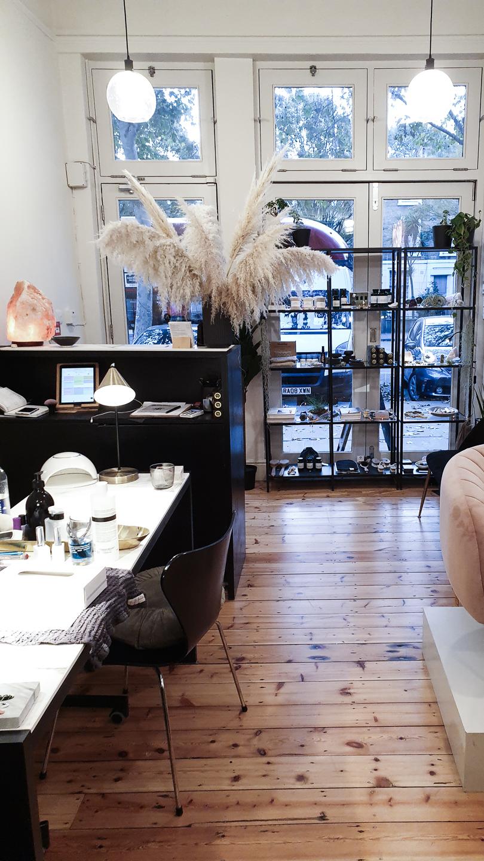 Interior of STILL London Nail Salon