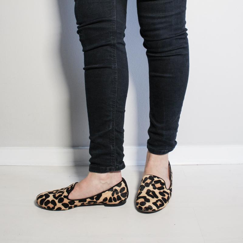 Second-Hand Leopard-Print Flats