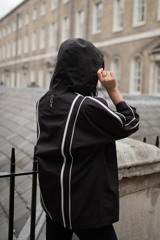 Back of On Good Authority's kimono jacket