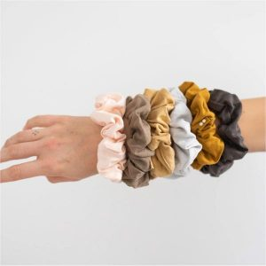 Plastic-Free Scrunchies