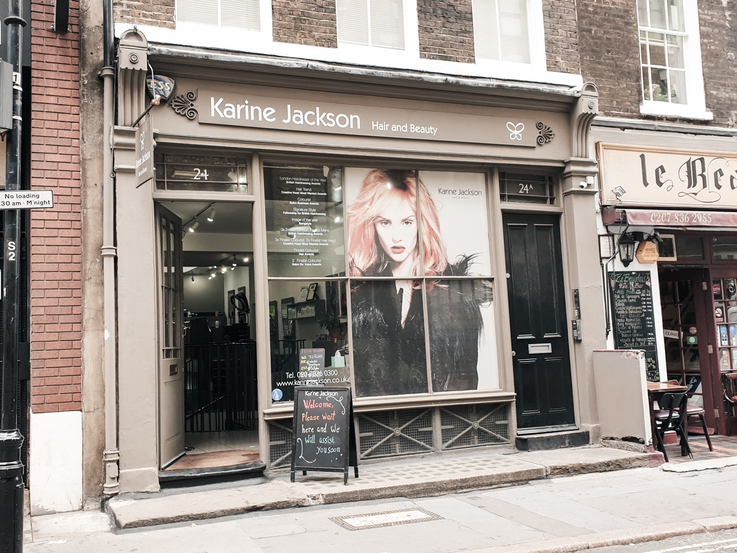 Exterior of Karine Jackson salon