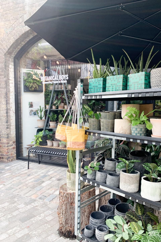 Exterior of Botanical Boys Plant Shop