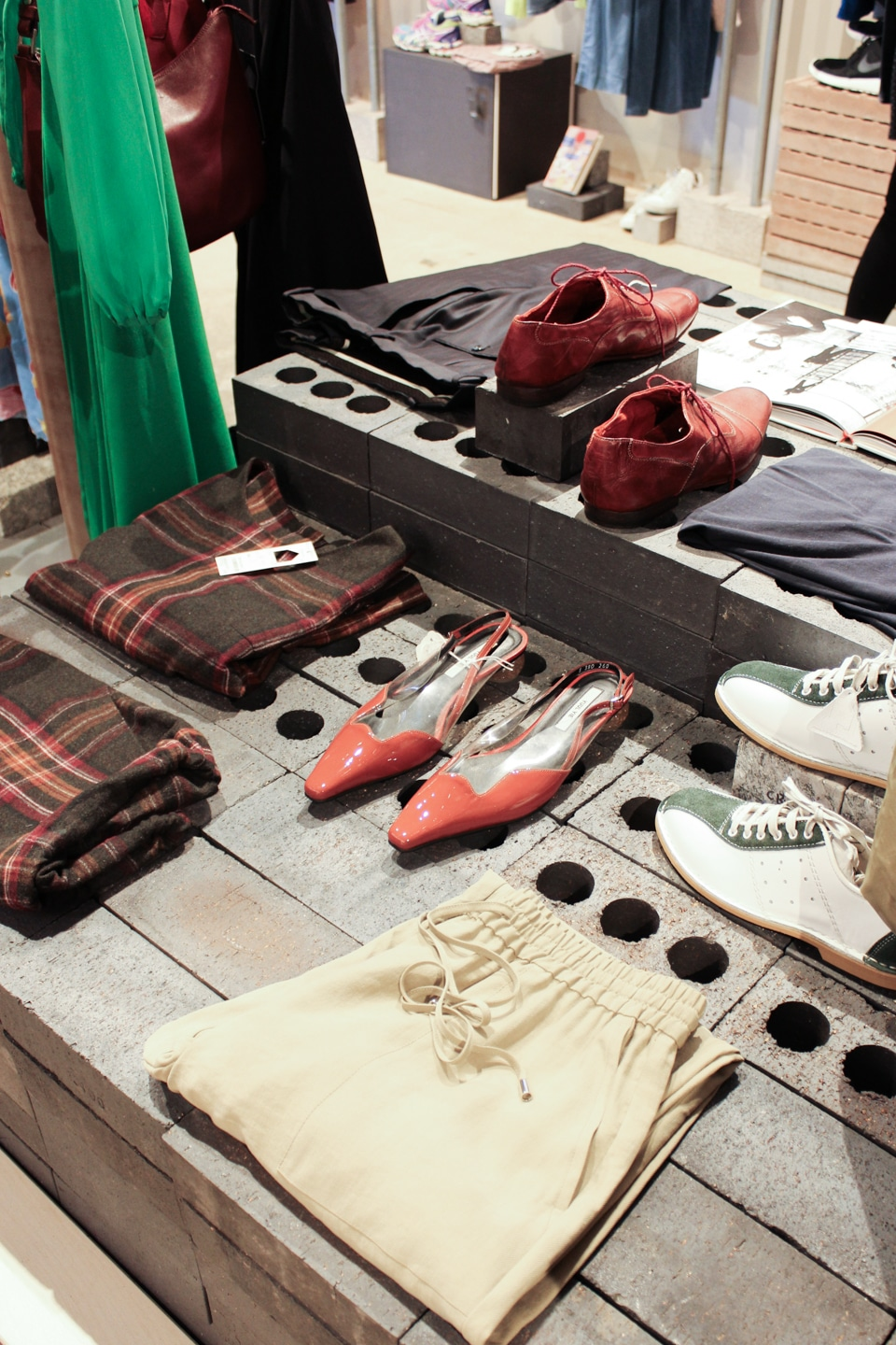 Items on sale at Shelter Kings Cross