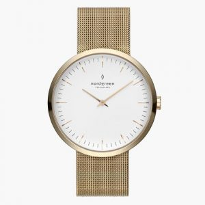 Nordgreen Watch in Gold Mesh