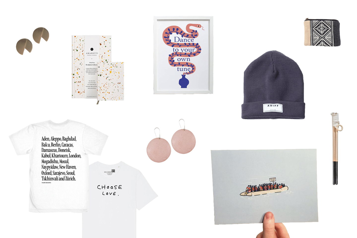 Gifts Supporting Refugees Under £40