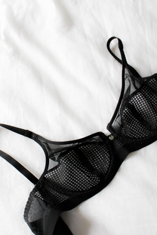 Black Underwear from Chantelle Paris