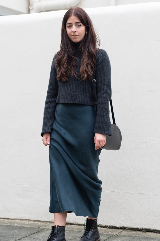 Grey cashmere jumper from Naadam