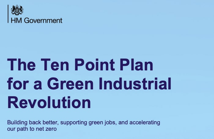 Cover of Ten Point Green Plan